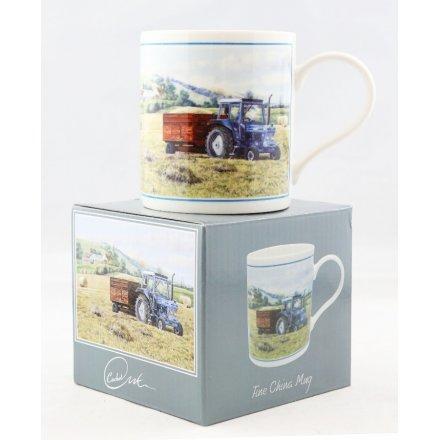 A Good Yield Printed China Mug