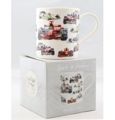 this drinking mug will be sure to make a wonderful gift idea for any racing fan