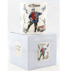 this drinking mug will be sure to make a wonderful gift idea for any fond fisher