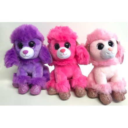 these pretty poodle soft toys will be sure to be best friends with any little prince or princess