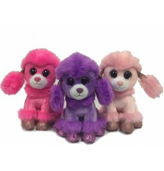 From the cuddly creators of Milli Moo, these pretty pink and purple toned teddy toys are perfect pocket money toys!