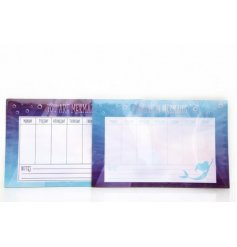 Keep track of all your mermaid activities with this colourful assortment of Underwater themed magnetic planners