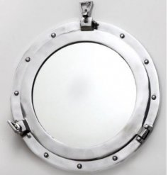 Bring a charming Nautical sense to any home space or interior with this stylish Port Hole inspired Mirror