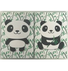Add an adorable touch to your note taking and reminders with these sweet Panda themed note books