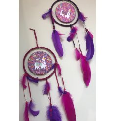 Add a colourfully creative twist to your home decor with this funky assortment of llama themed hanging dream catchers