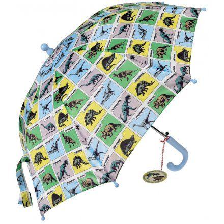 A fun and colourful inspired umbrella, perfect for little ones wanting to stay dry during the wet weather!