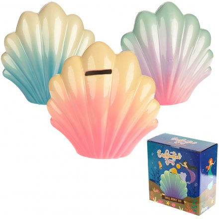 Bring a colourful array of tones to any little ones bedroom space with this charming assortment of ceramic money boxes