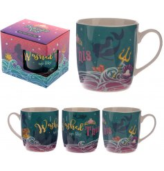 A Mermaid Slogan Design China Mug