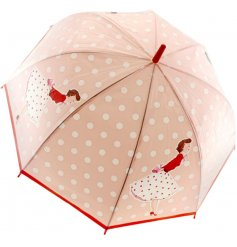 A Mrs Smith Pink Dot Umbrella
