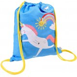 A fun and colourful inspired draw string bag, perfect for little ones wanting to take all their toys when travelling!