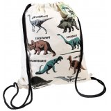 A fun and retro inspired drawstring bag, perfect for little ones off to school and playdates!