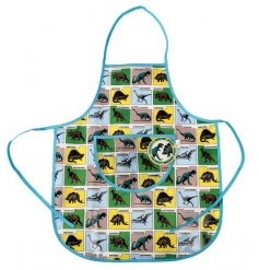 this plastic apron will be just what your little ones need to stay clean while painting, baking or playing