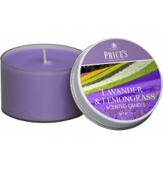 Bring a beautiful burst of a fresh floral scent into your home spaces with this sweet smelling candle