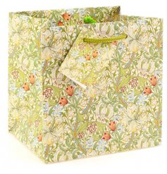 A small gift bag with William Morris Golden Lily print