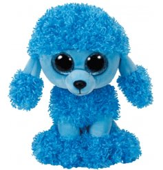 A Mandy The Poodle Beanie Boo TY Soft Toy