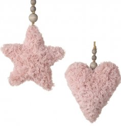 Bring a fuzzy fluffy edge to your home decor or tree displays this Christmas with this sweet assortment of hanging decs