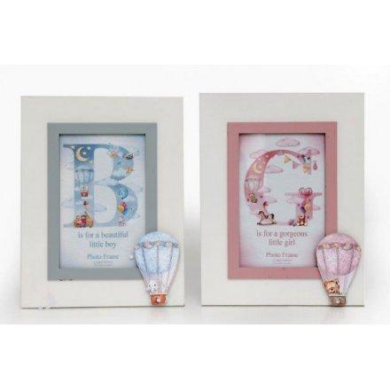 BB0204 / Baby Balloon Photo Frames, 2 Assorted | 41112 | Kids ...