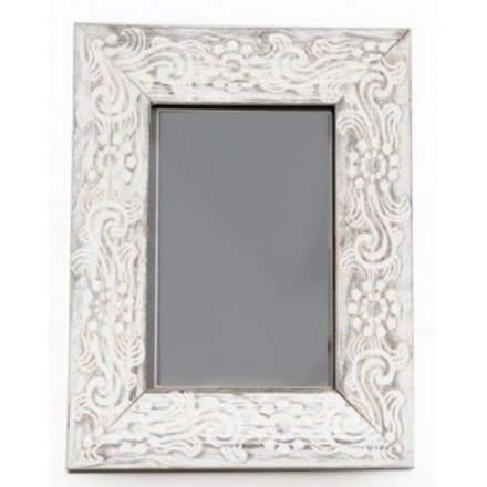 Distressed Effect Wooden Frame - 4x6