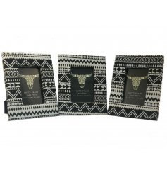 Bring a Modern Aztec touch to your home decor or displays with this charming printed fabric photo frame