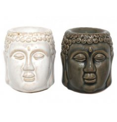 Bring in a calming aroma to any home atmosphere with this assortment of relaxed Buddha Head Oil Burners