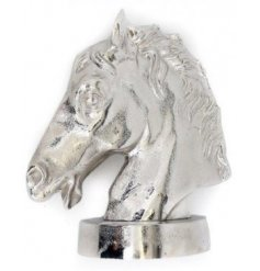 this horses head decoration will place perfectly in any themed interior