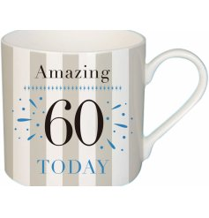 A fun and traditional gift idea for any friend or family member turning 60!