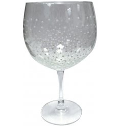 A stunningly elegant Gin Glass from the wonderful work of 'Sunny By Sue' set with a charming Christmas touch