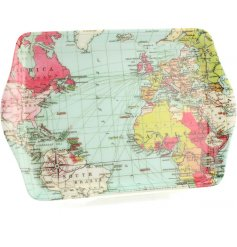 A World Traveller Print Tray Small