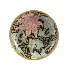 A William Morris Orange Clematis Design Trinket Dish