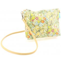 A William Morris Inspired Golden Lily Shoulder Bag