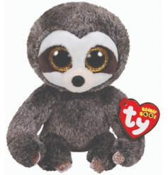 Get your little ones tucked into bed with this sweet wide eyed sloth soft toy from the TY range