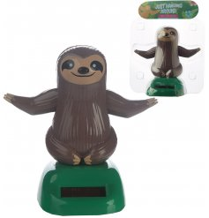 Jiggle and wiggle along with this super relaxed sloth solar pal