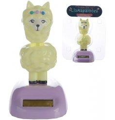 A fabulous little Llama solar pal, perfect for any windowsill, car dashboard or shelf!