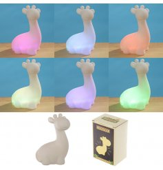 Add a sweet and subtle glow to any little bedroom at nighttime with this charming little Giraffe Nightlight