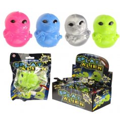A fun splatter ball in a mix of alien designs. A great pocket money priced item for kids!