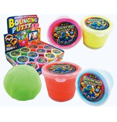 Get creative and have fun with this colourful DIY bouncing putty. A great item for kids.