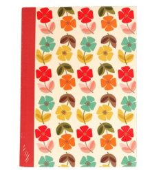 Keep all your memos, reminders, doodles or journal entries  with this charmingly colourful A6 notebook