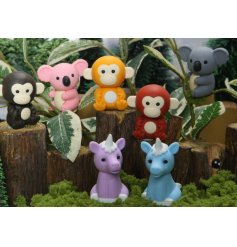 An adorable new line of character inspired pencil erasers. Perfect for stationary sets and school time!