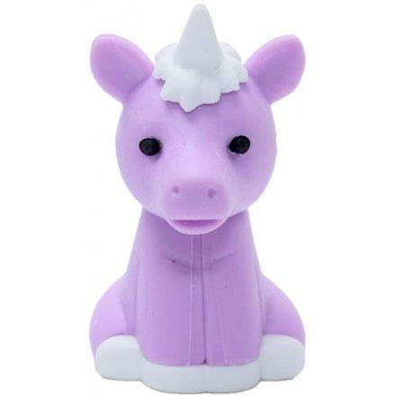 Iwako Purple Unicorn Eraser