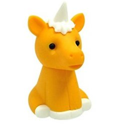 Add an enchanting unicorn touch to any writing time or stationary set with this sweet little sitting unicorn eraser!