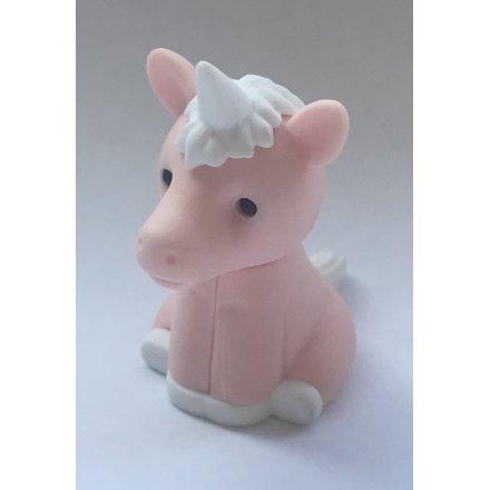 Iwako Pink Unicorn Eraser