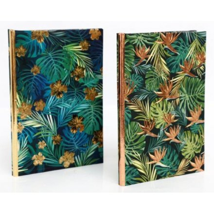 Golden Leaf A5 Notebooks