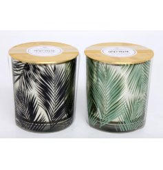 With their 'Blue Hibiscus' and 'Paradise Rain' scents, these Luxe scented candles are a must have for any themed interi