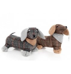 Bring a charming Country edge to your home interior with this sweet standing sausage dog doorstop