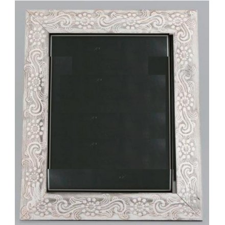 Ph2220 Large Rustic Patterned Wood Frame 8x10 41375 Homeware