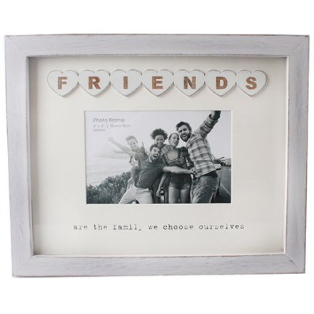 Friends Tile Wooden Frame