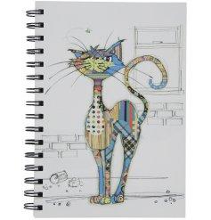 A Bug Art Cola Cat A5 Notebook