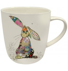 A Bug Art Binky Bunny Design Mug In Gift Box