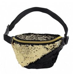 Bring back that retro look with an added hint of sparkle with this stylishly funky clip on Bum Bag