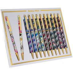 Bring a tropical touch to your stationary sets and pencil cases with these fabulous laser ball pens